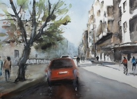 Contemporary International Aquarelle